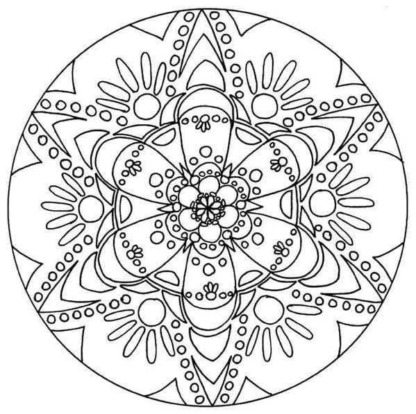 194 best Creative Kids images on Pinterest Coloring pages Mandala