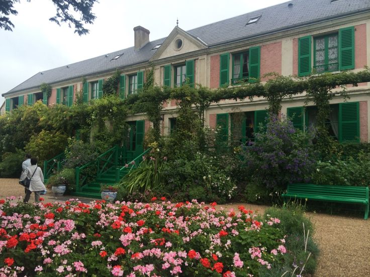 Maison de Claude Monet. Best villages of France