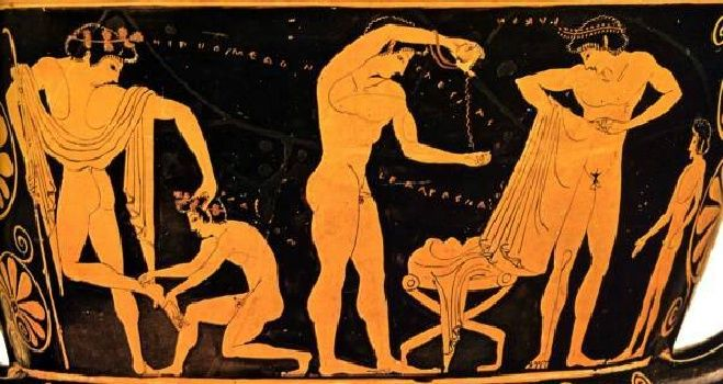 Ce mâncau olimpicii din Grecia Antică?