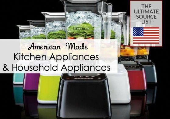 Ultimate Source List Of Kitchen Appliances And Household