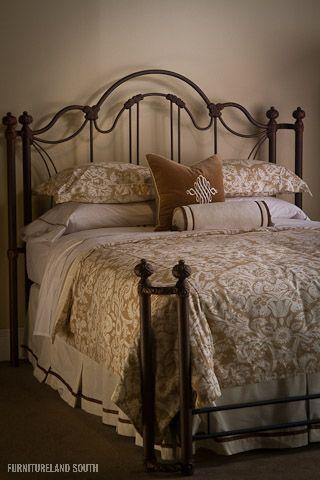 Wesley Allen Inc., Marlowe Metal Bed | Beds and Bedding ...