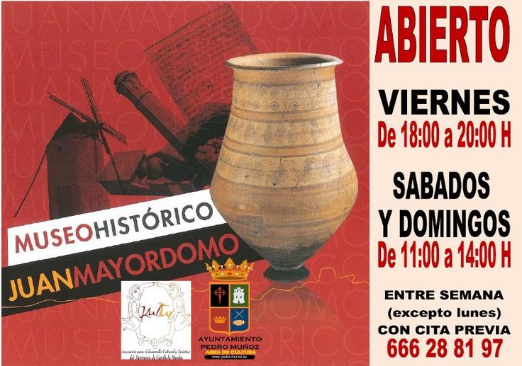 Horarios del Museo Histórico Juan Mayordomo