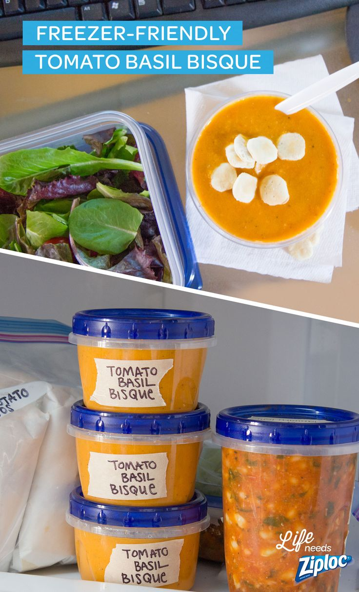 A freezer meal that's perfect for lunch on the go. Make a big batch of this easy recipe and portion out single servings into Ziploc® Twist 'N Loc containers. Store in the freezer and grab one on your way to work. No need to pop it in the office fridge, it will thaw by lunchtime and be ready for a quick reheat.