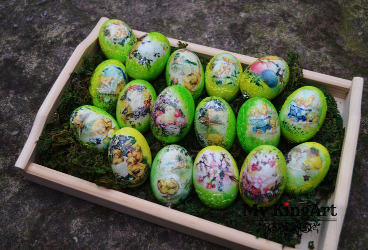 wooden eggs 6cm