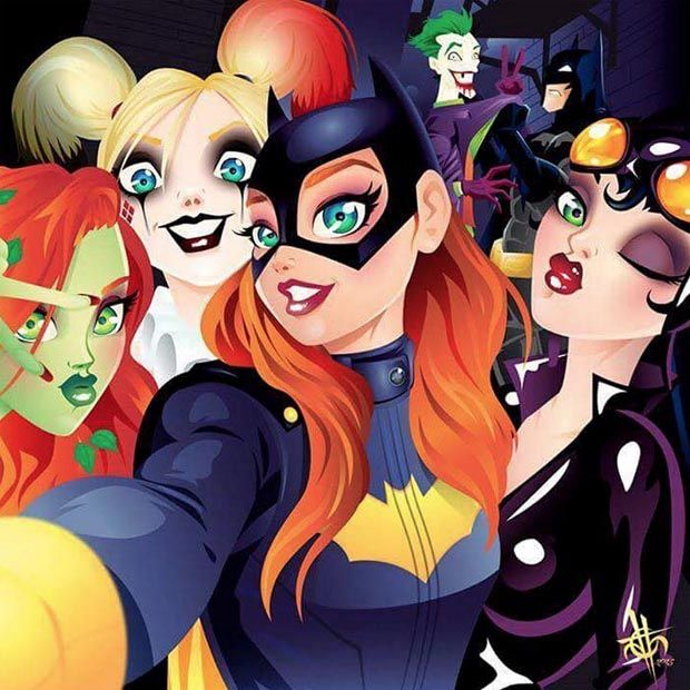 Batgirl and Crew