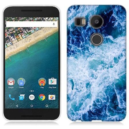 Mundaze Deep Ocean Waves Phone Case Cover for LG Google Nexus 5X