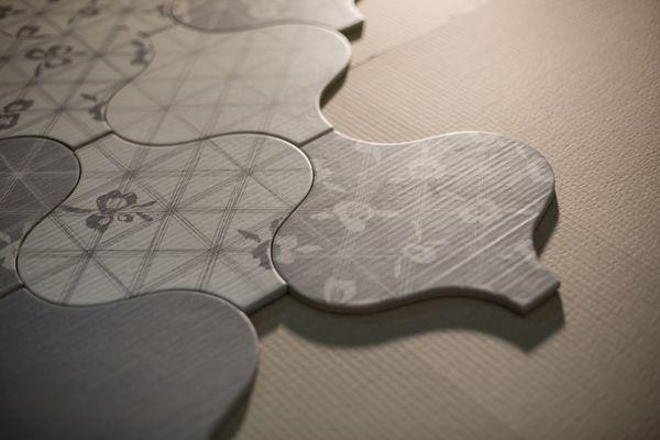 Quintessenza Ceramiche Muse Quintessenza-Muse-0 , styl Styl Patchwork, Salon, gres porcelanowy, uniwersalne, Antypoślizgowość R10, Powierzchnia matowa, krawędzie  nie rektyfikowane, Wariacja cieńi V2