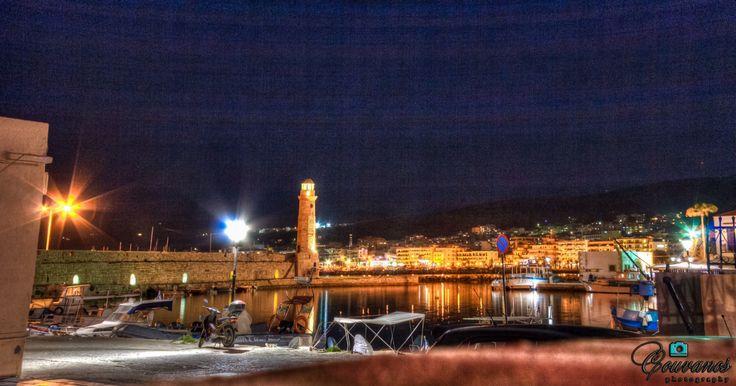 Rethymnon port, Crete island