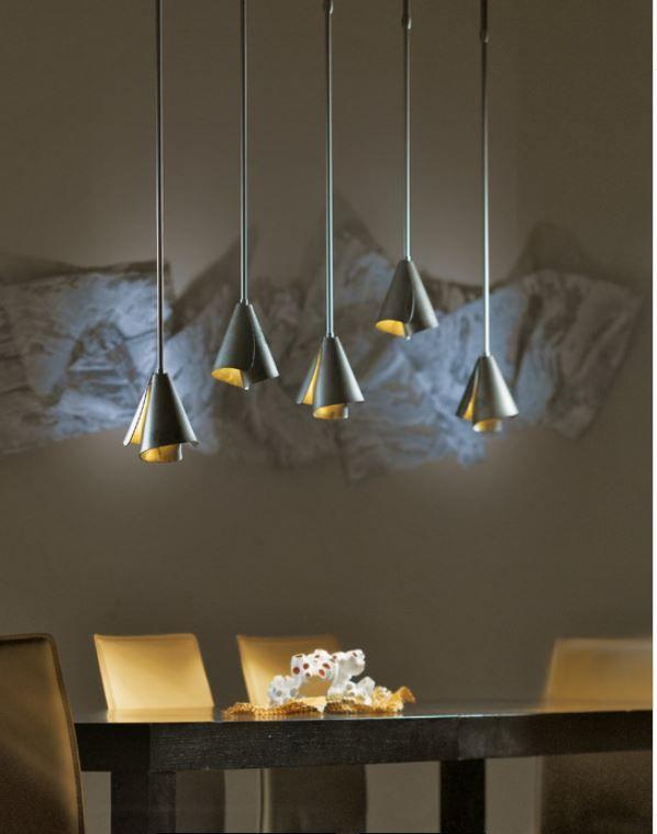inspirational lighting. mobius steel shade mini pendant 18450 inspirational lighting