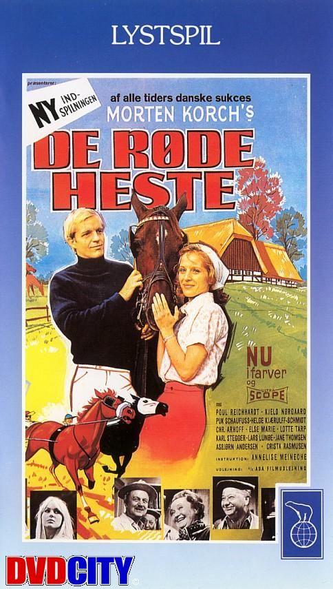 De røde heste vinder løbet (1968) Den ny udgave at den gamle Morten Korch film De røde heste.