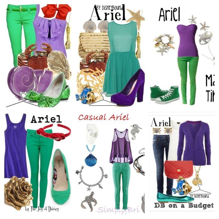 Fun princess ariel dress up and outfit inspiration #7 | Disney | Pinterest | Ariel dress Ariel ...