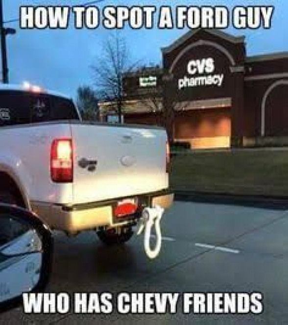 Anti Chevy Jokes Google Search Liftedfordtrucks Lifted Ford