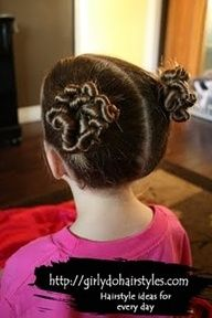 Kid hair dos  #hairstyles #beautyblog