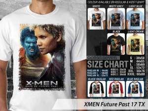 Kaos XMEN Charles Xavier, Kaos Film XMEN Couple Family, Kaos Film Marvel XMEN, Kaos Film XMEN Anak-anak
