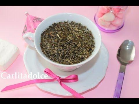 TONICO fatto in casa al Tè nero e Tè verde contro i PUNTI NERI! | Carlit...