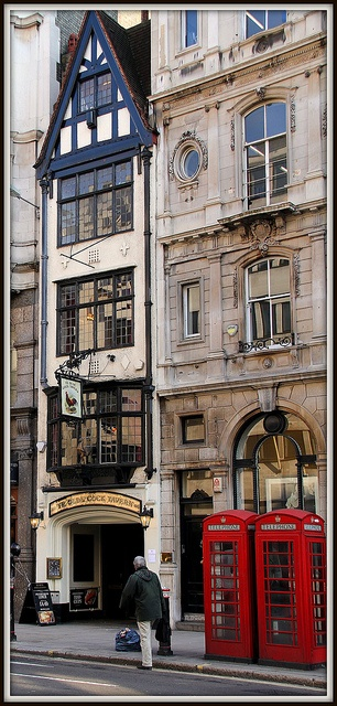 Ye Olde Cock Tavern, Fleet Street, London. Its where I officially fell in love with Fish and Chips