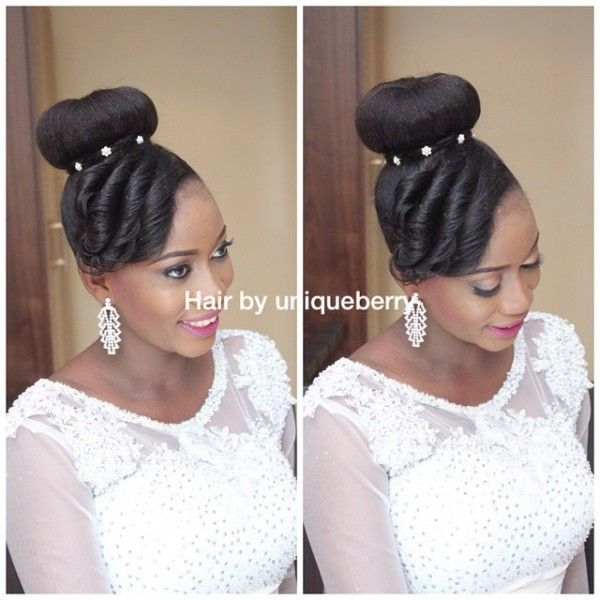 Elegant Hairstyles For Nigerian Brides: 1000+ Images About Nigerian Wedding Hairstyles On