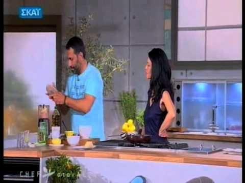 Ταραμοσαλάτα Τηγανητή-Chef στον αέρα- skai.gr- Β.Ακρίβος