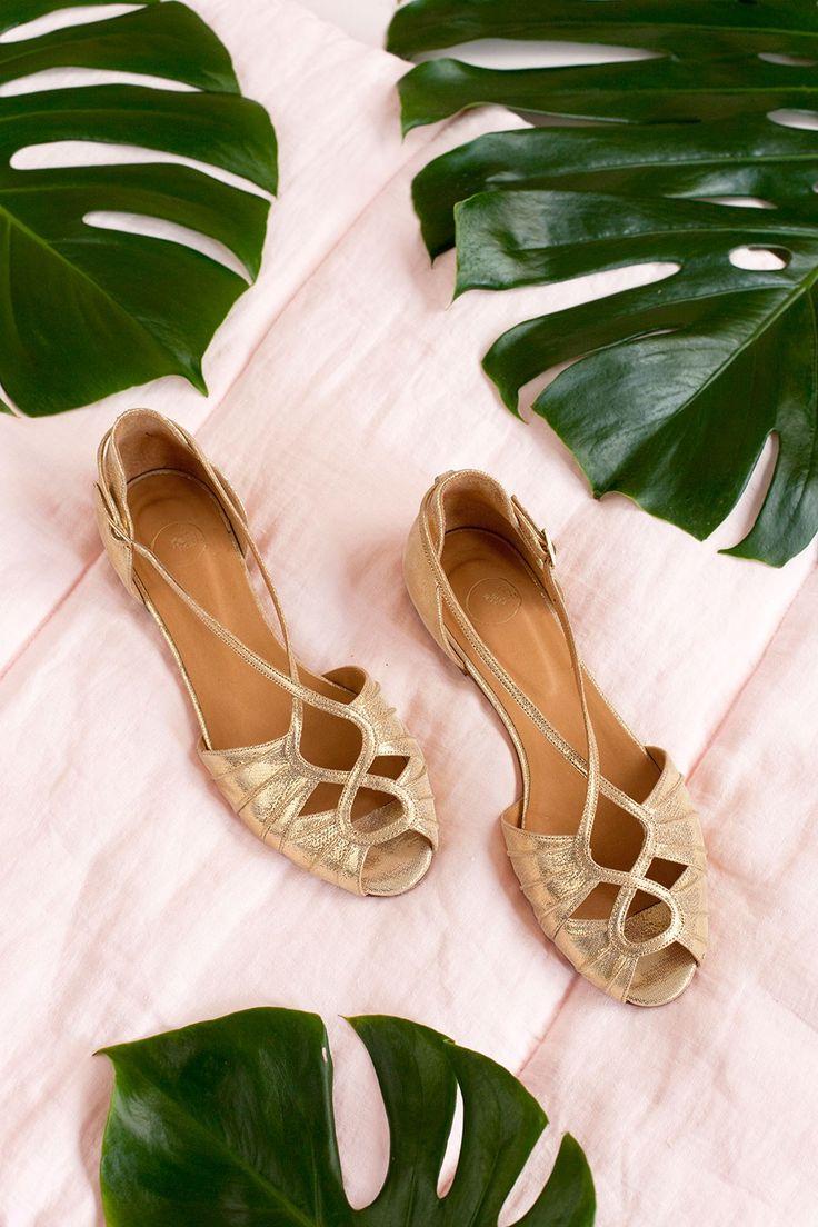 Chaussures louise dore - chaussure 100% cuir naturel - des petits hauts 1
