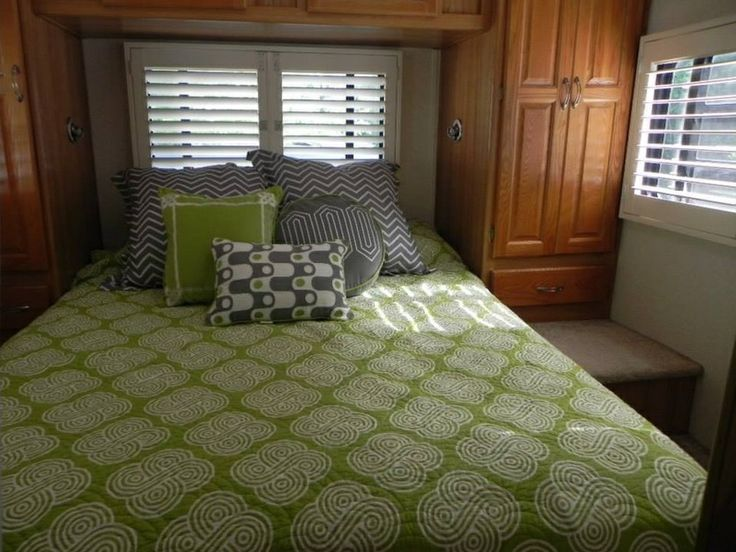 Custom Shutters In Motorhome By Budget Blinds Of Cape Cod