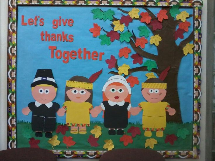 November Calendar Bulletin Board Ideas : Thanksgiving bulletin board idea november