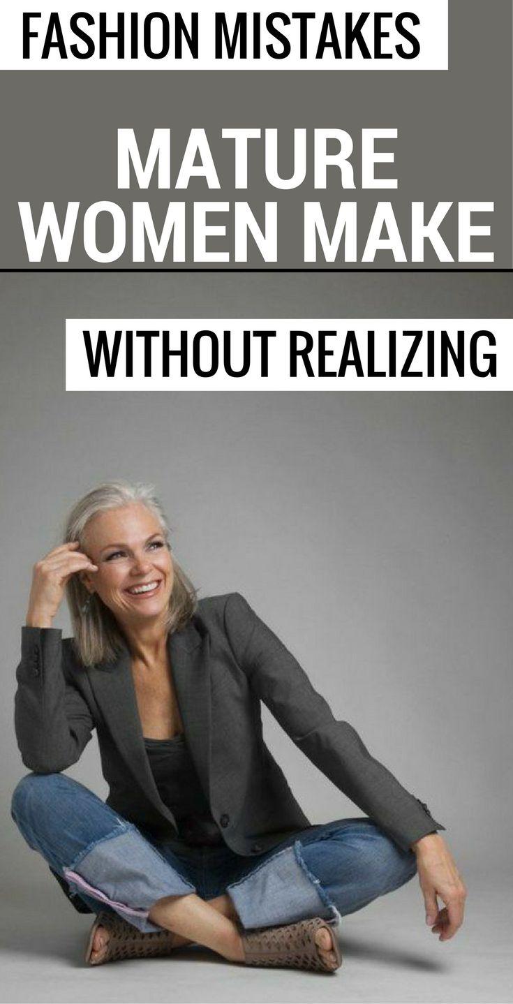 Fashion Mistakes Mature Women Make Without Realizing 1