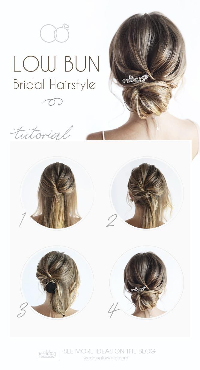 30 zeitlose Brautfrisuren | Hochzeits-Vorwärts   – Hair Styles Projects to try