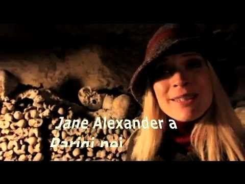 Jane Alexander nelle catacombe di Parigi.. come Jacques, protagonista di Paris Kebab!