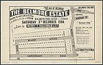 The pick of Belmore, the Belmore Estate. Sales plan for land in the suburb of Belmore in Sydney bordered by Canterbury Road, Mooney Street, Chapel Street and Wilson Avenue. Courtesy National Library of Australia.