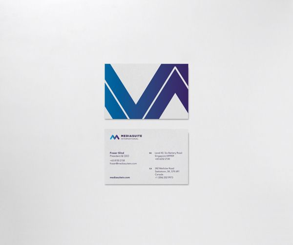 Mediasuite International by Here And There, via Behance