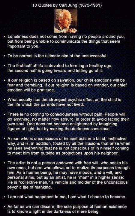 Great thoughts by Carl Jung