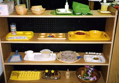 Montessori activities - practical life activities and links