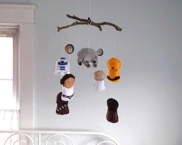 Star Wars Baby Nursery Mobile Crib Bedding By Foxfluff