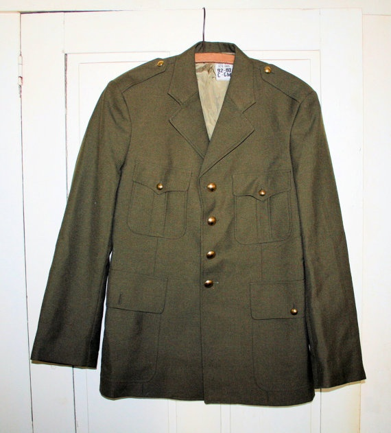 80's Paul Boye French Military or Police Jacket S by MisterBibs, $55.00