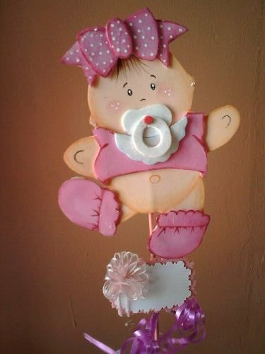 Recuerdos para baby shower en foami bsf 15 00 en for Baby shower foam decoration