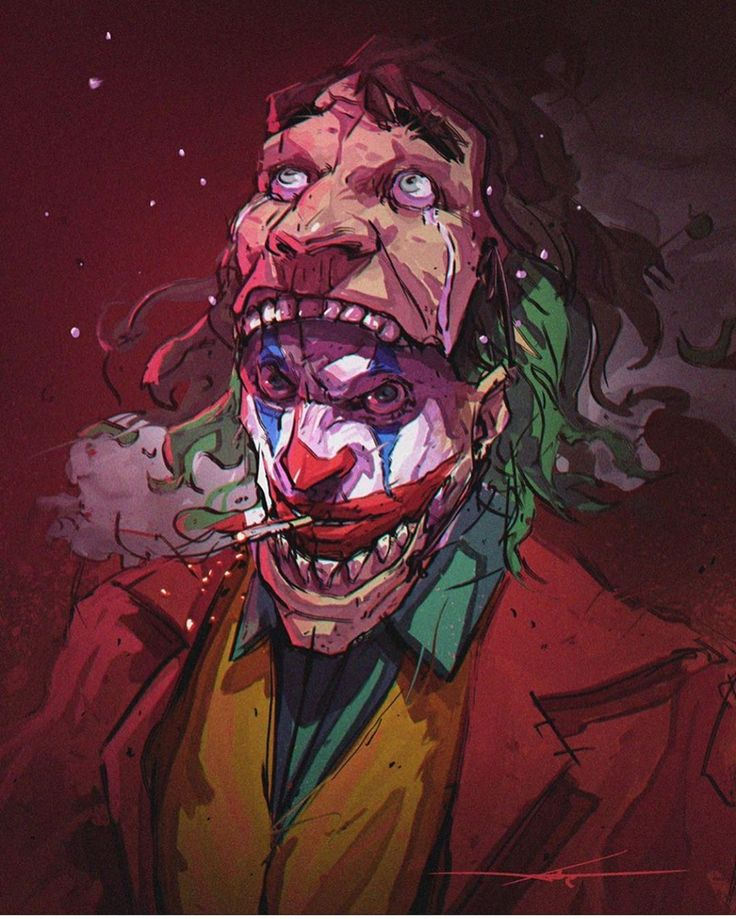 Art: Warrick Wong #joker#gotham#dccomics  #marvel#comics#art#artist#anime#disney…
