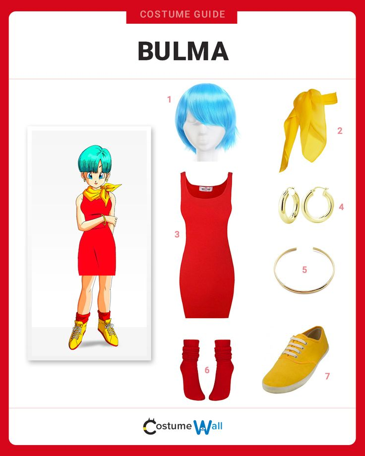 Using our costume guide, we can have you rocking Bulma's look from Dragon Ball Z in no time flat.