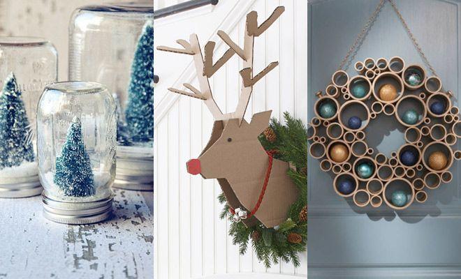 Image result for originele kerstdecoraties zelf maken