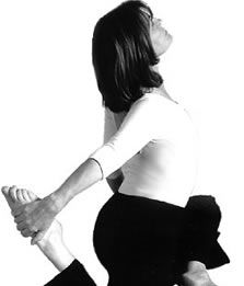 Love Miranda Esmonde-White! Her technique not only relieves back pain and improves posture, but is a great core work out that isn't too intense. Check her out on PBS!!