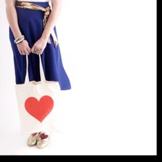 Heart tote bag. Shopbando.com