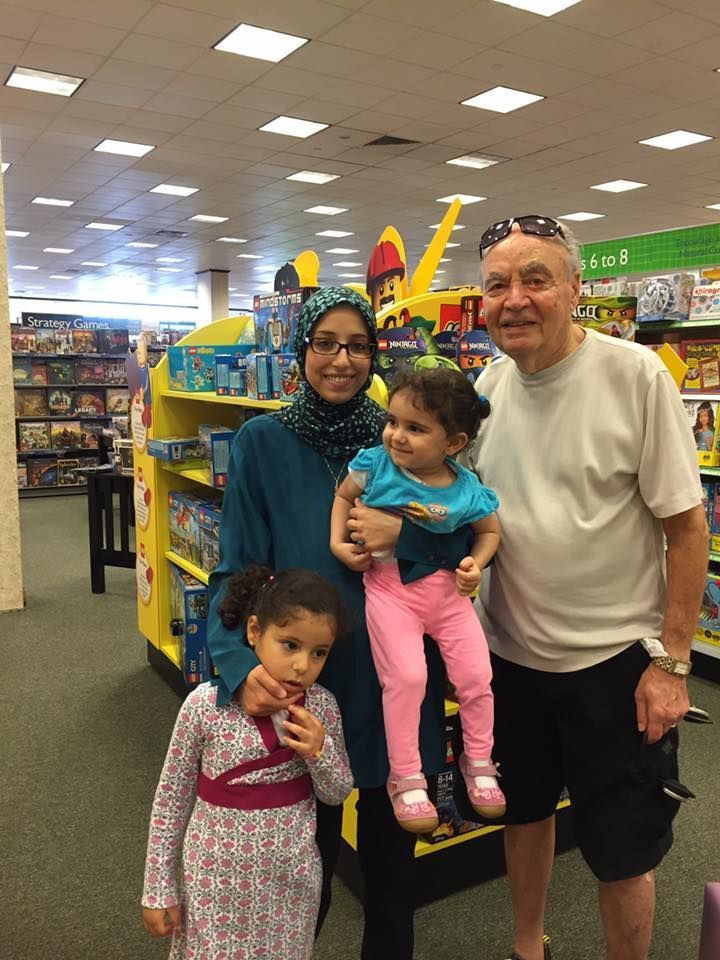 A Muslim-American woman is getting attention for the heartwarming story she shared on social media about a Jewish-American man who approached her out of the blue to empathize with how difficult it must be to face prejudice as a Muslim.  Leena Al-Arian, of Greater Boston, wrote in a Facebook post Thursday