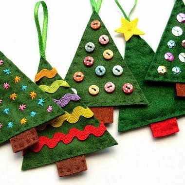 Felt Christmas Tree How To                                                                                                                                                                                 More
