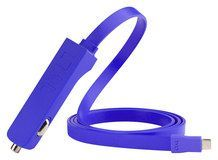 Tylt - Ribbn Vehicle Charger - Blue