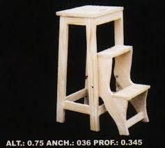 1000 images about escaleras peque as on pinterest - Taburete escalera madera ...