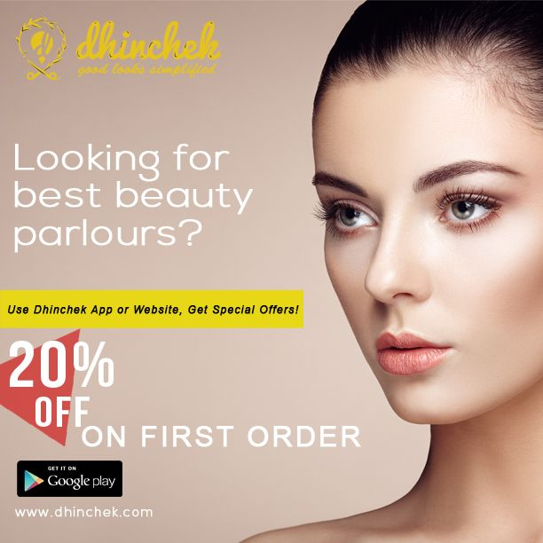 Dhinchek offers the widest selection of beauty parlours for Bleach, Hair, Nail Care, Make-up, and more.