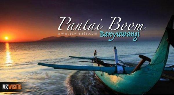Wisata Banyuwangi Pantai Boom sambil menikmati Sunset yang Indah