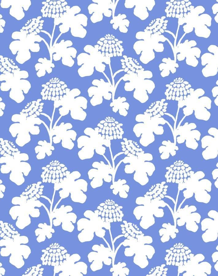 Casia Flowers Solid Wallpaper By Carly Home Sky Wallpaper Floral Wallpaper Wallpaper Roll