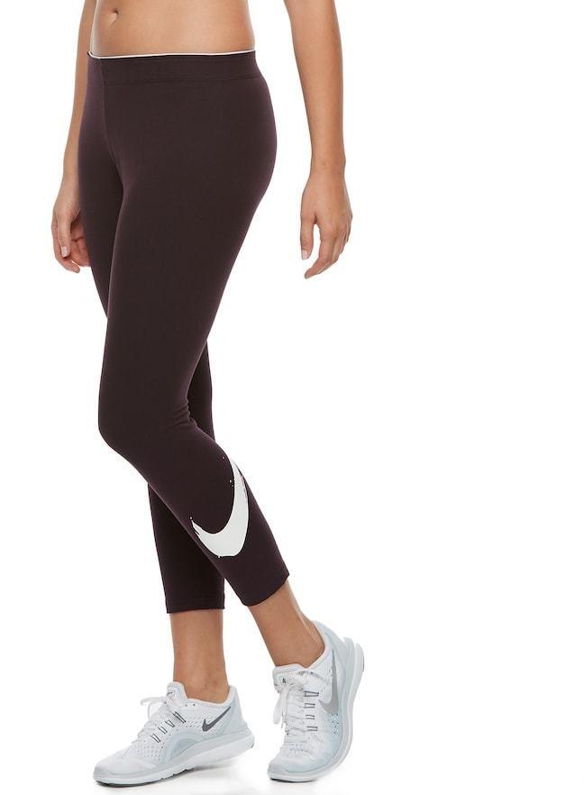 Nike Women's Nike Classic Club Swoosh Capri Leggings #nike