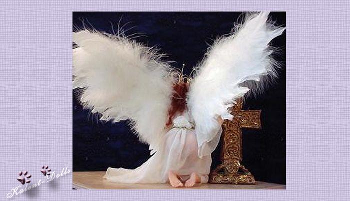 как сделать крылья для куклы