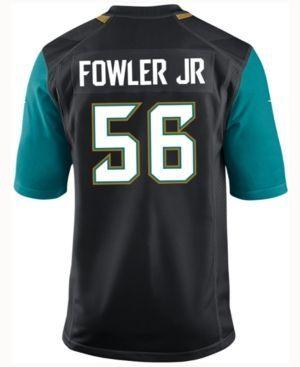 Nike Men's Dante Fowler Jr. Jacksonville Jaguars Game Jersey - Blue XL